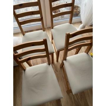 Krzesła lerhman ikea 4 sztuki super stan