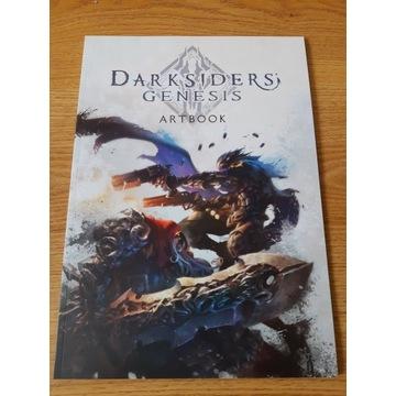 Darksiders Genesis Duży Artbook Nowy.