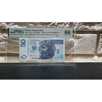 50 złotych 1994 PMG 66 EPQ