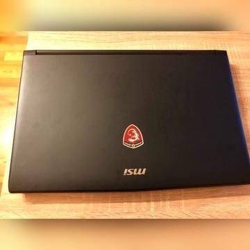 Laptop MSI  GL62 7RD i7-7700HQ GTX 1050 128GB SSD