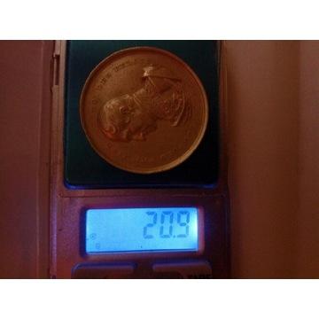 Medal Rolniczy srebro Francja