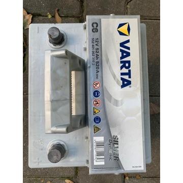 Akumulator VARTA Renault CLIO 12V 52Ah 520A