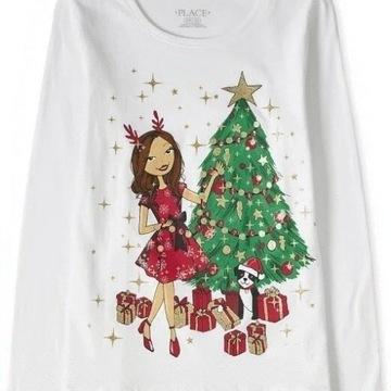 Childrens Place bluzeczka Glitter Girl 7-8 lat
