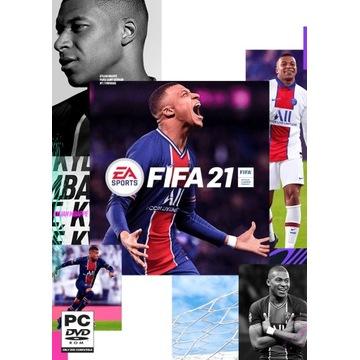FIFA 21 - klucz origin
