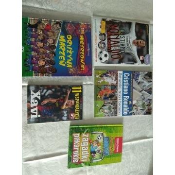 Christiano Ronaldo 2 książeczki Xavi i Drużyna mar