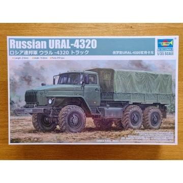Ciężarówka wojskowa Russian URAL-4320 Trumpeter