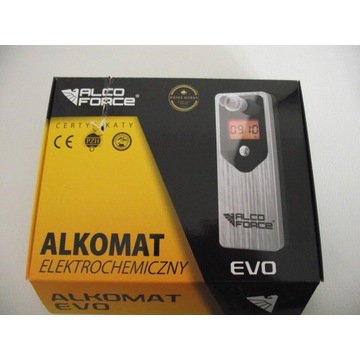 Alkomat elektrochemiczny Alcoforce EVO i ustniki