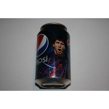 Pepsi puszka kolekcjonerska Leo Messi 2013 r.