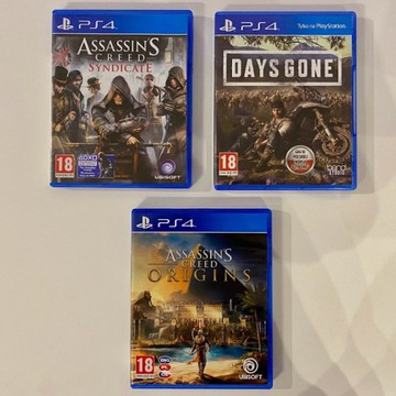 PS4 PL Days Gone | Assassin Origins | Syndicate