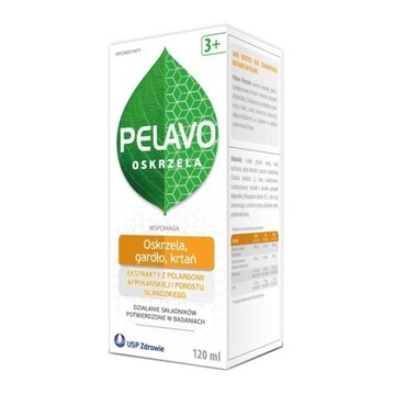 Pelavo Oskrzela, syrop, 120 ml
