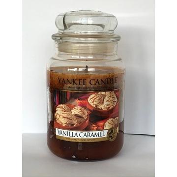 VANILLA CARAMEL Yankee Candle duża świeca (2013)