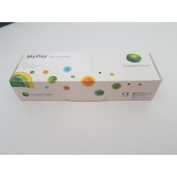 Soczewki jednodniowe CooperVision MyDay -3,5 sph