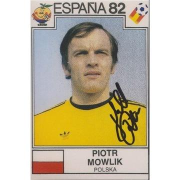 Piotr Mowlik (Legia) AUTOGRAF
