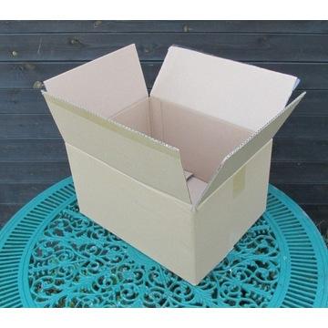 Kartony 40 szt klapowe używane 390x300x210-230 mm