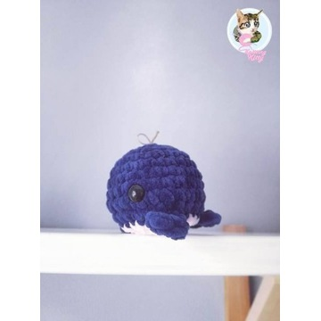 Wieloryb maskotka prezent handmade