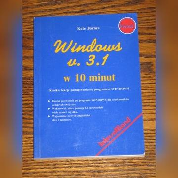 Windows v. 3.1 w 10 minut - Kate Barnes