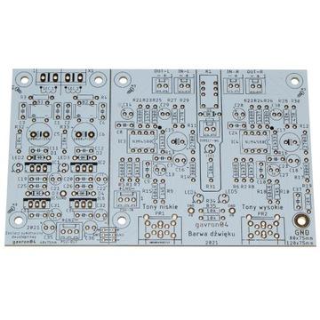 PCB barwa dźwięku accuphase E450