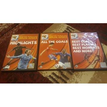 Mistrzostwa Świata 2010 RPA 3 DVD gole futbol