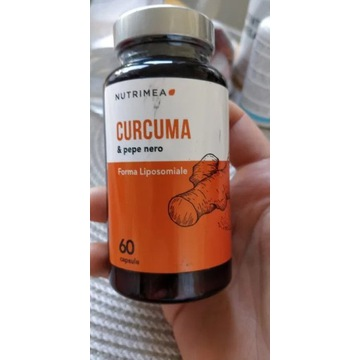 Kurkuma I czarny pieprz curcuma pepe nero 60 caps