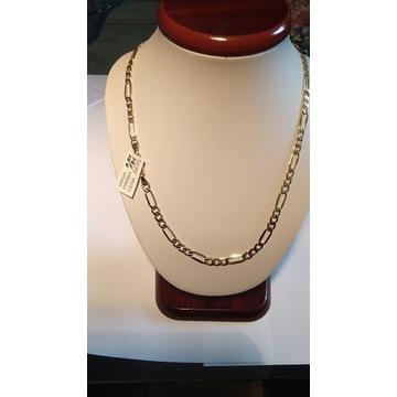 Łańcuszek złoty pr. 585 waga 8,85g