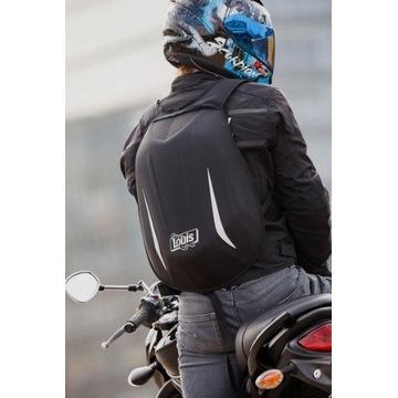 Plecak motocyklowy czarny Louis
