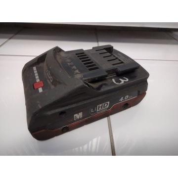 Akumulator Metabo  LIHD 18 V - 4,0 AH - 2 szt