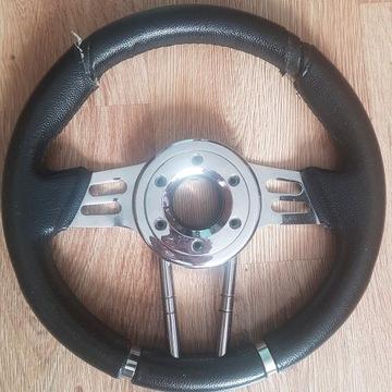 Sportowa kierownica + naba (śruby)