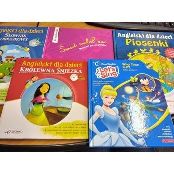 Pakiet dla dzieci książki do nauki angielskiego