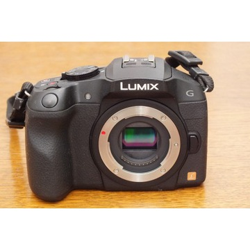 Panasonic Lumix DMC-G6 micro 4/3 po upadku