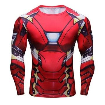 Rashguard Iron Man MMA Fighter *DARMOWA DOSTAWA*