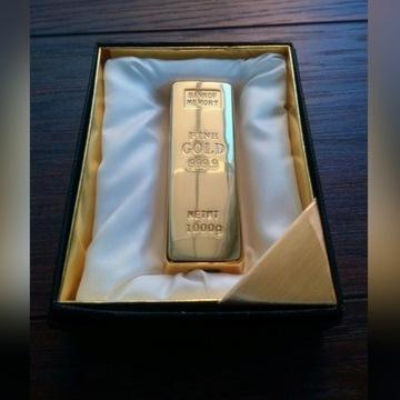 Zapalniczka żarnikowa sztabka złota
