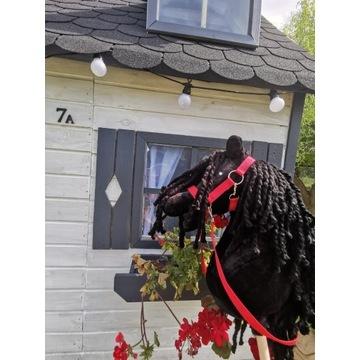 Koń Hobby Horse na kijki - Black Prince