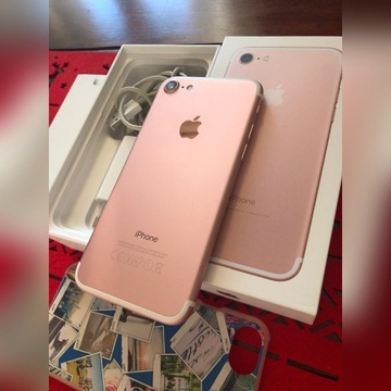 Apple iPhone 7 Rose Gold idealny
