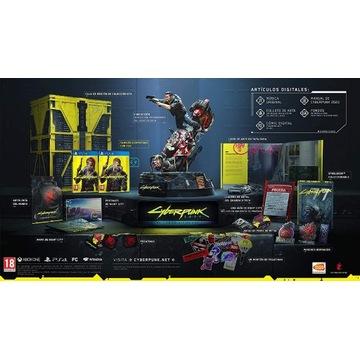 Cyberpunk 2077 kolekcjonerka PS4/PS5 + poradnik