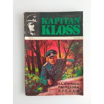 Kapitan Kloss Tajemnica profesora Riedla wydanie I