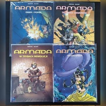 Armada tom 1, 2, 3, 4 STARE WYDANIE!