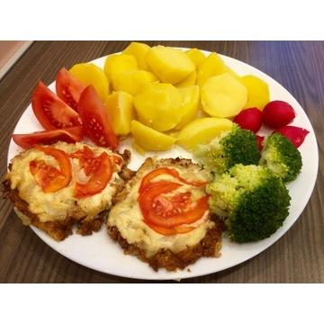 Wegańskie jedzenie,wypieki bez cukru i białej mąki