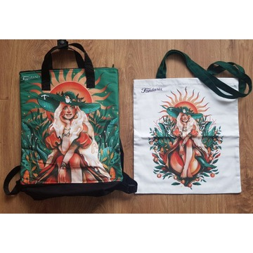 Limitowany oryginalny plecak i torba Fantasia NOWE
