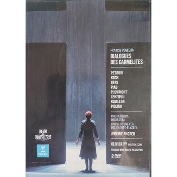 Poulenc - Dialogues des carmelites 2 Dvd, Petibon,
