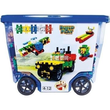 CB606 KLOCKI CLICS Rollerbox 20w1