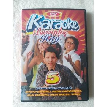 Karaoke Biesiadne Hity 5 dvd