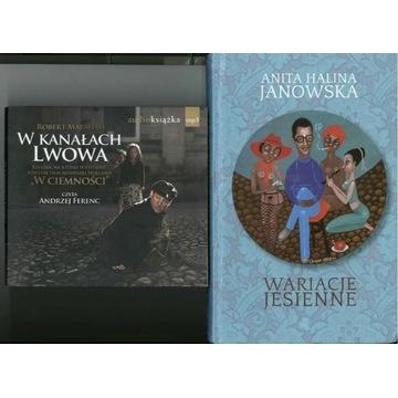 audiobook MP3 W kanałach Lwowa + prezent książka