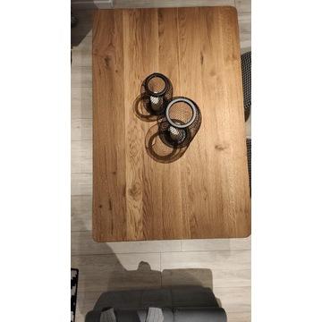 NOWY drewniany blat dębowy 90x140cm, 4cm grubość