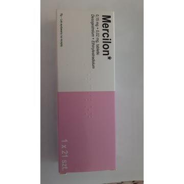 Mercilon, 0,15 mg + 0,02 mg, tabletki, 21 szt.