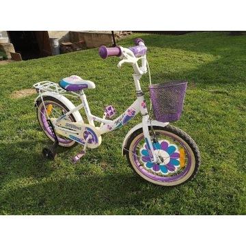 Rower 16 cali dla dziewczynki