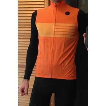 Kamizelka rowerowa pomarańczowa S