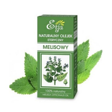Melisowy olejek eteryczny naturalny aromaterapia