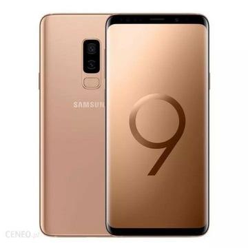 Samsung galaxy S 9+ gold