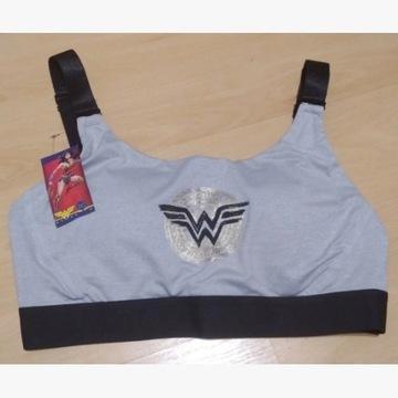 Stanik sportowy biustonosz M 40/42 Wonder Woman