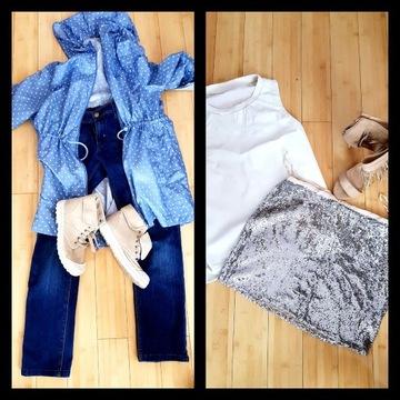 Mega paka 40 L DKNY Pepe jeans Zara tommy buty 37